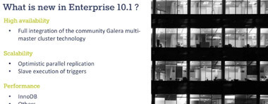 Was ist neu in MariaDB Enterprise 10.1?