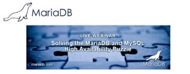Webinar: Solving the MySQL and MariaDB High Availability Puzzle - 30. July 2015
