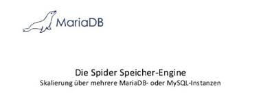 Webinar: Die Spider Speicher-Engine - German, 25. February 2015