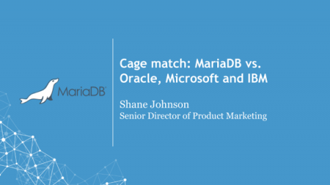 Cage match: MariaDB vs. proprietary thumbnail