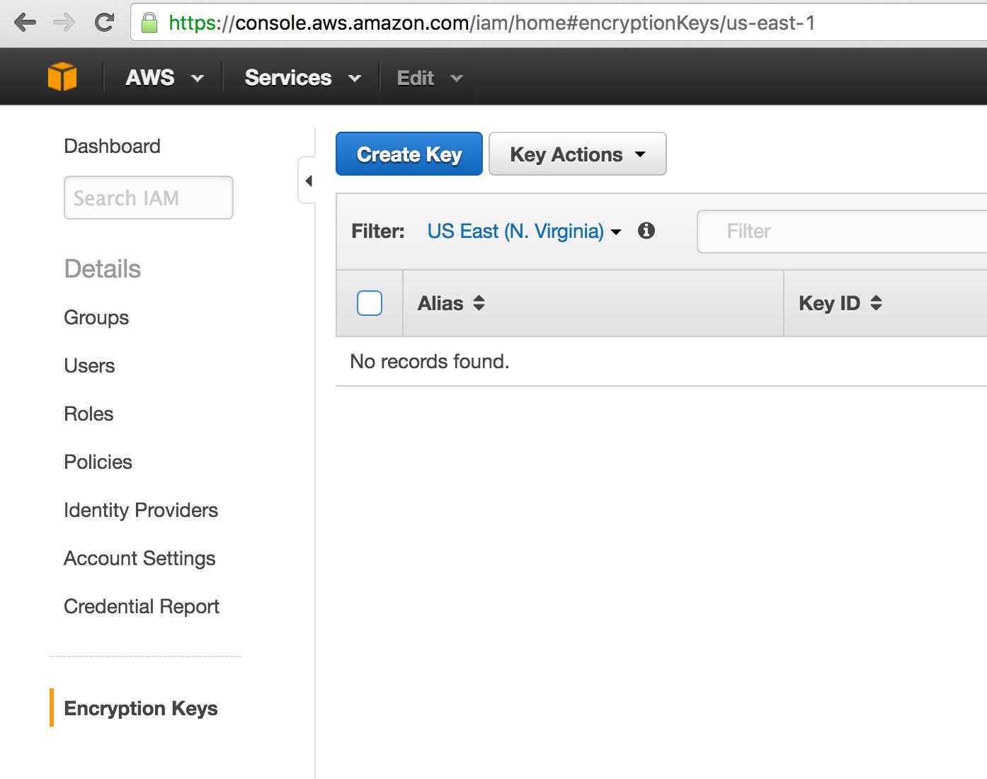 Amazon Web Services Aws Key Management Service Kms Encryption Database Software Attachments