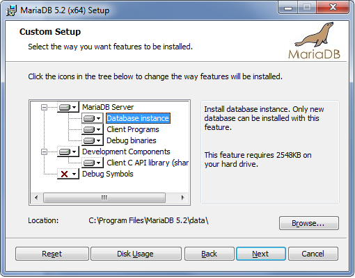Installing MariaDB MSI Packages on Windows - MariaDB Knowledge Base