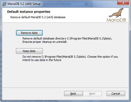 Installing MariaDB MSI Packages on Windows - MariaDB