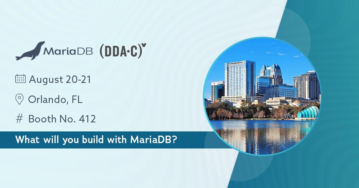 Disney Data & Analytics Conference | MariaDB