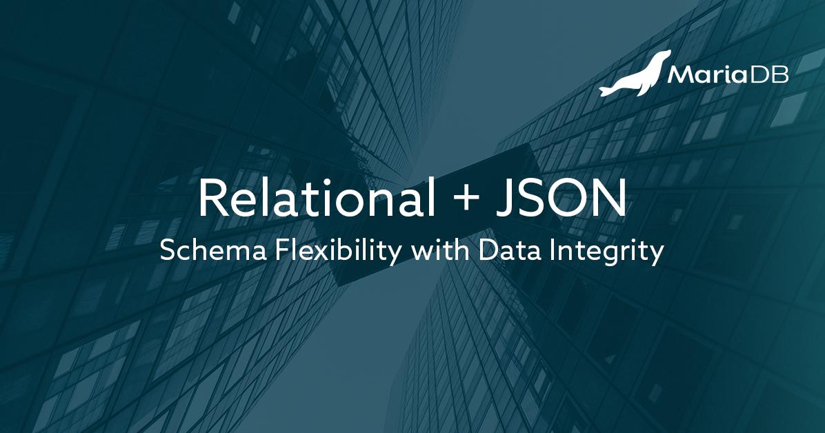 Hybrid Data Model: JSON + Relational | Flexible Database