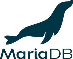 MariaDB official logo: blue vertical png