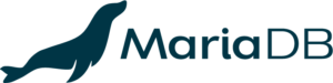 MariaDB official logo: blue horizontal png