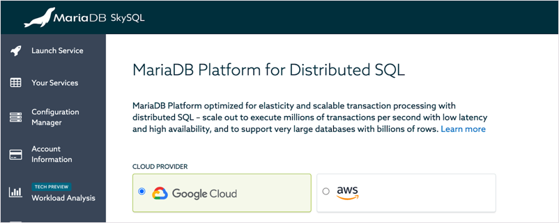MariaDB Platform Distributed SQL
