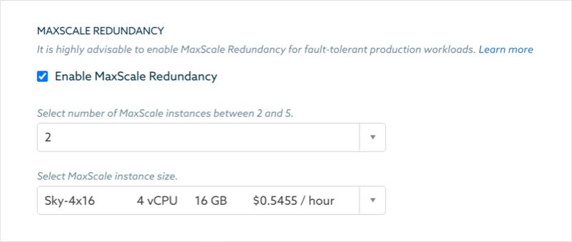 MariaDB MaxScale Redundancy